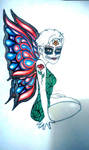 Butterfly Catrina by czmanga