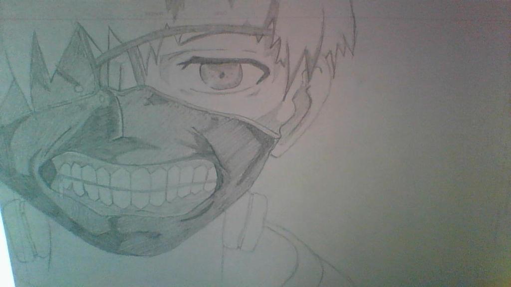 Fan Art  Kaneki Ken by HamItziar on DeviantArt