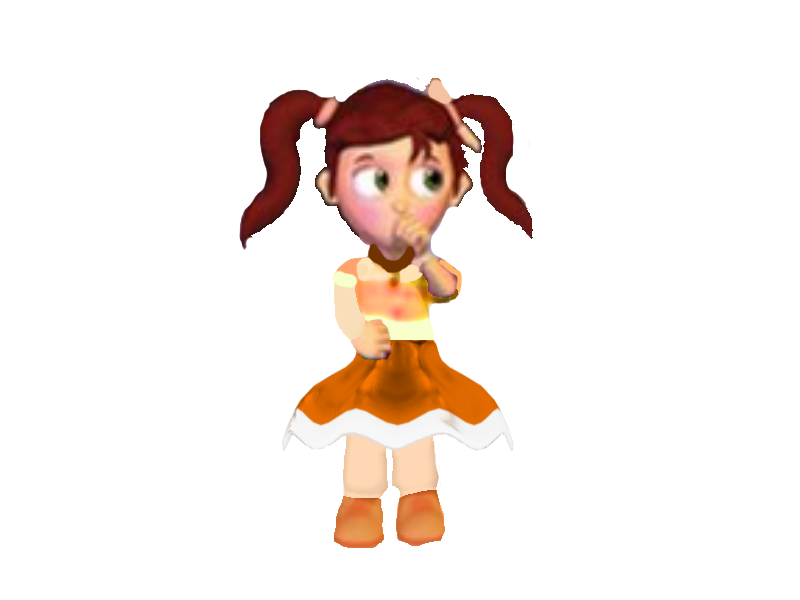 Fnaf Pigtail Girl Scott Cawthons Version by ajlew on ...