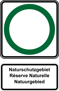Palmers Road Signs-Nature Reserve in New Namur by ajlew
