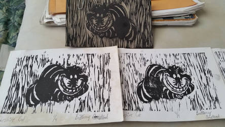 Cheshire Cat Prints by GUMIGamer94