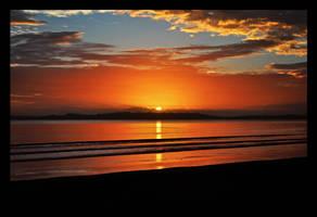 Beach Sunrise III