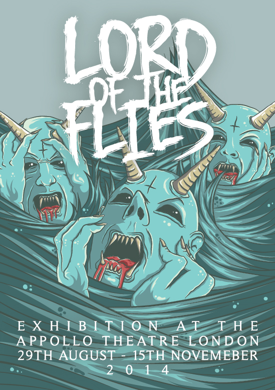 Lord of the flies poster by superpencilpower