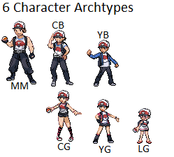 Character Archtypes by Xairou