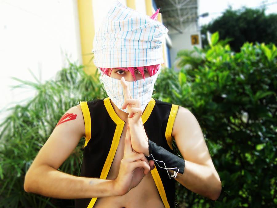 NAtsu Ninja Jutsu XD by andrewartX