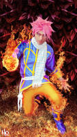 Natsu Celestial Clothes by andrewartX