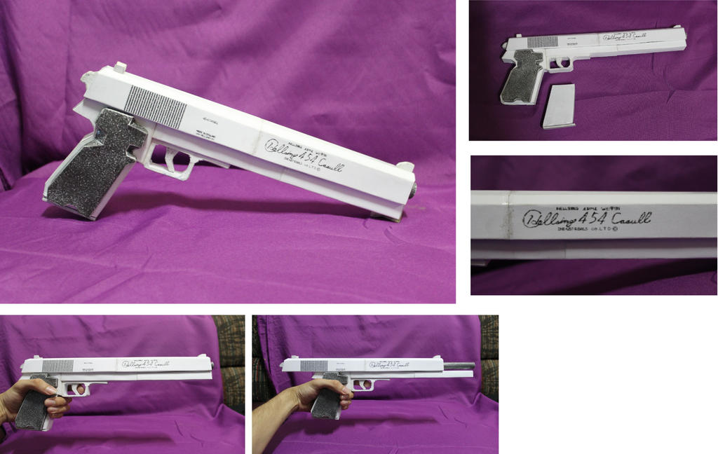 Casull Papercraft by andrewartX