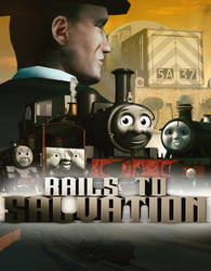'Rails to Salvation' Official Poster by Tinesaeriel