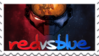 Red vs Blue Stamp by Raquel71558