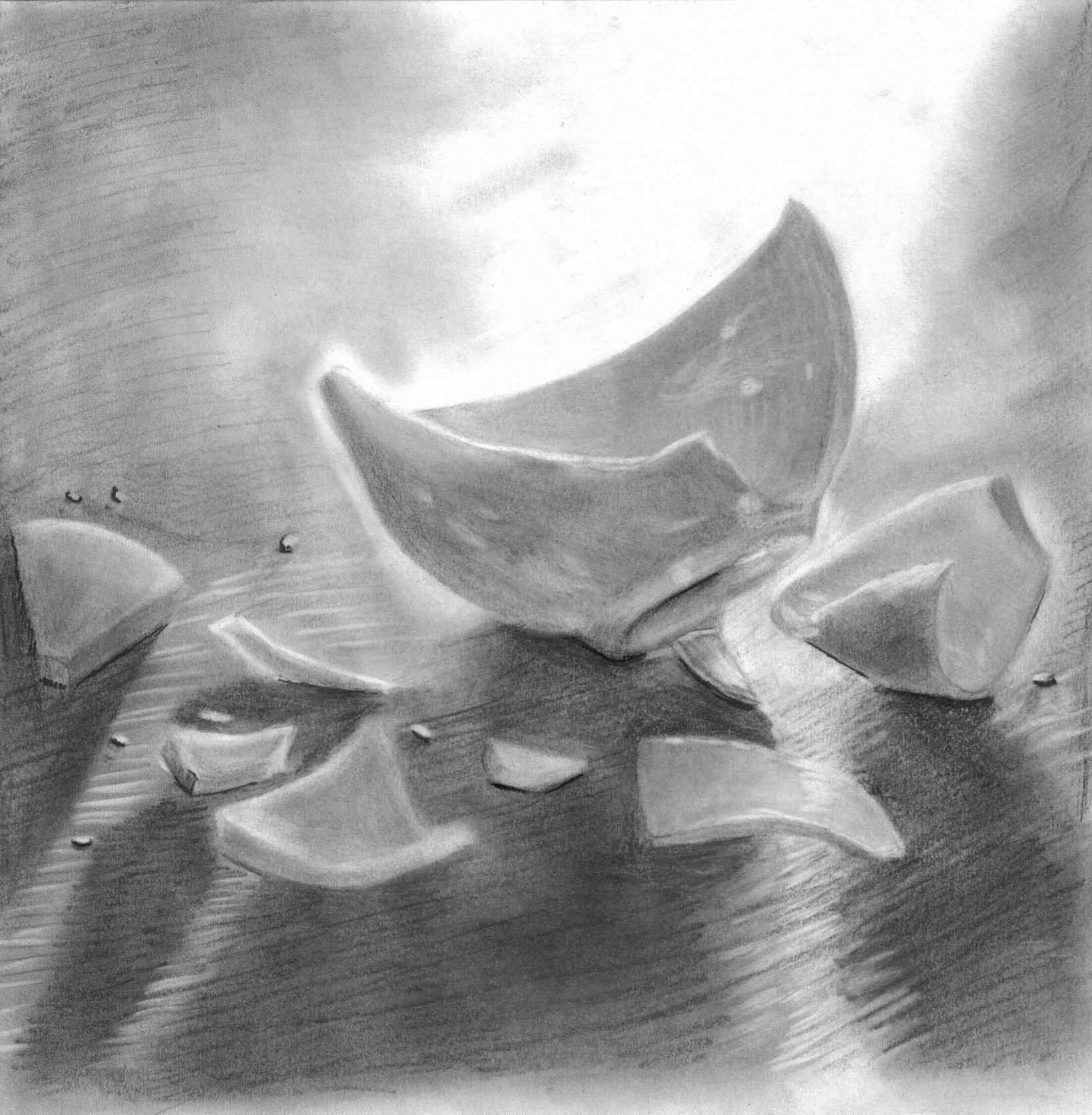 Broken Cup by ThenInMYsouL on DeviantArt