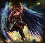Revelation of Azure Inferno Wings