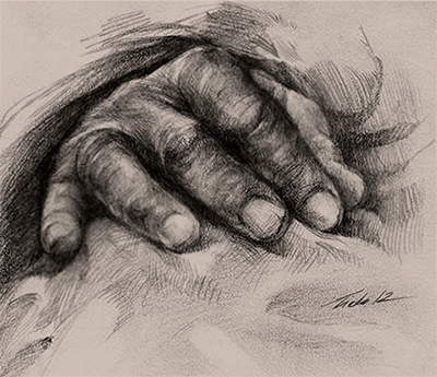 hand practice by Feohria