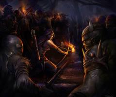 Ambush by Pearlpencil