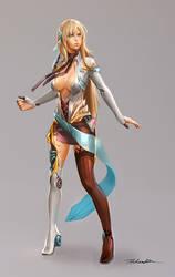 Elenari - character concept by Pearlpencil