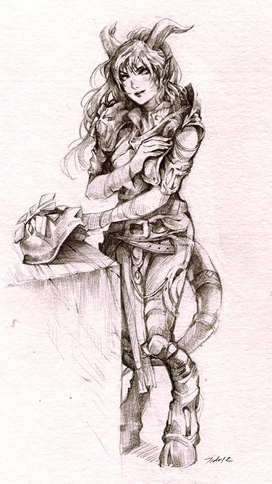 The Draenei Daia edited by Lilaccu