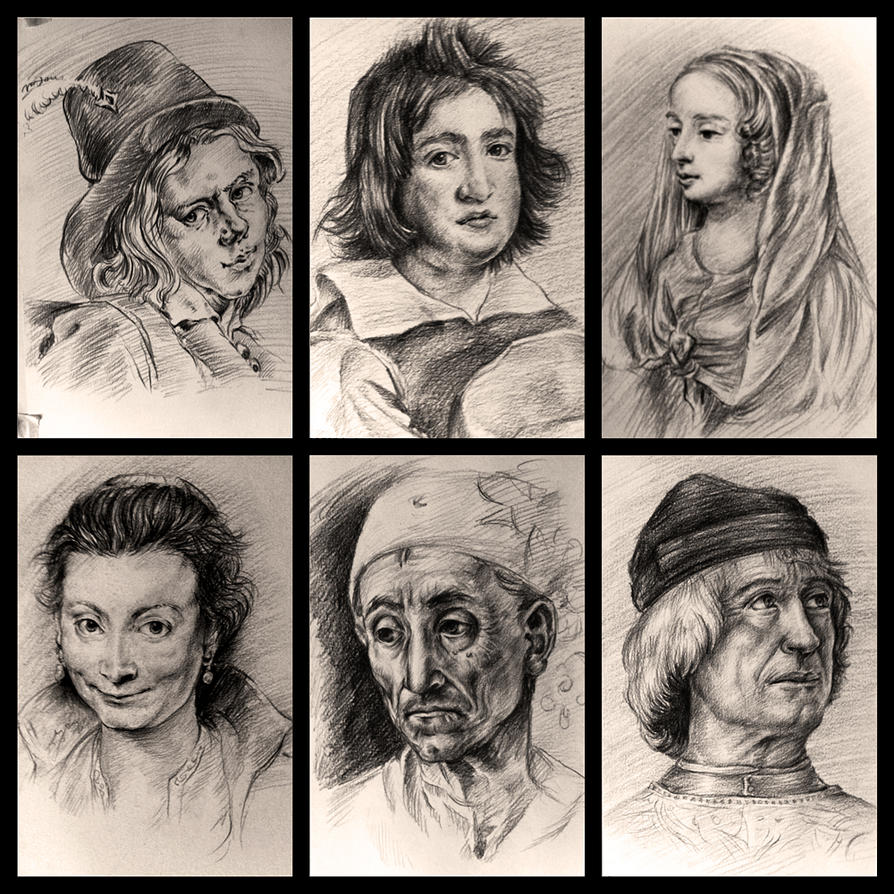 Drawing study from old master since 2003 #2