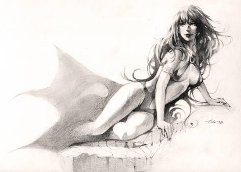 Vampirella - drawing commission