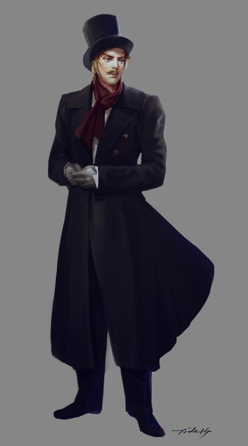 Gentleman 01 by Pearlpencil on DeviantArt