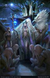 The Moonlit Light Elven Palace