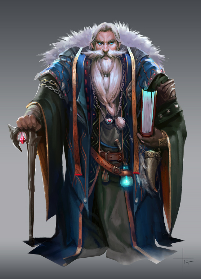 The Dungeon Master by Pearlpencil