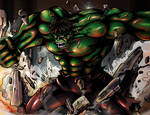 Hulk Colored by holyghost13th
