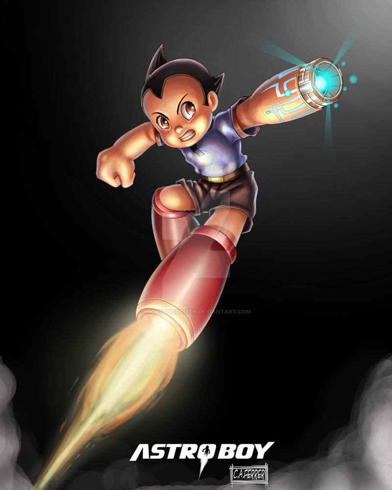 Astro Boy By Holyghost13th On DeviantArt