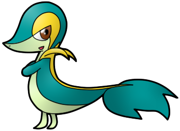 Shiny Snivy by Xstrawberry-queenX on DeviantArt