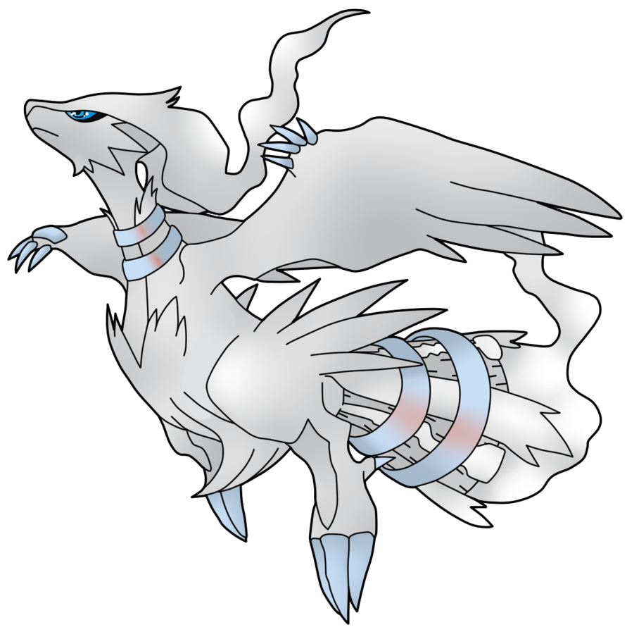 Pokemon Reshiram Free Coloring Pages