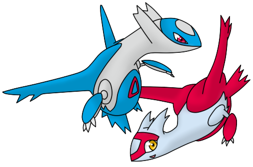 Shiny Latios And Latias