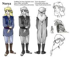 Norya Character Bio