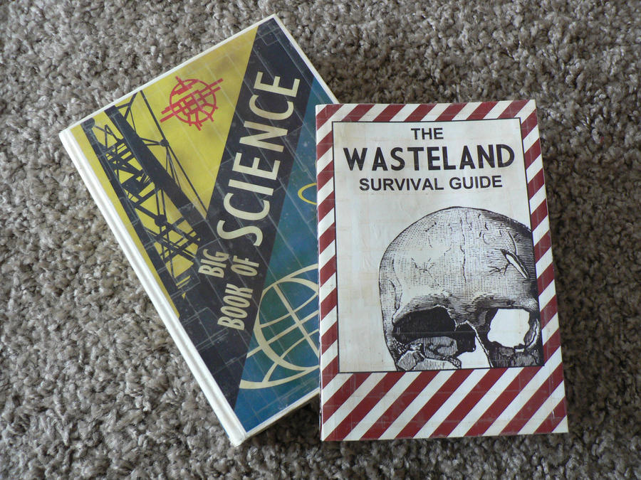 Fallout - Skill books - Science Book + Survival G. by ...
