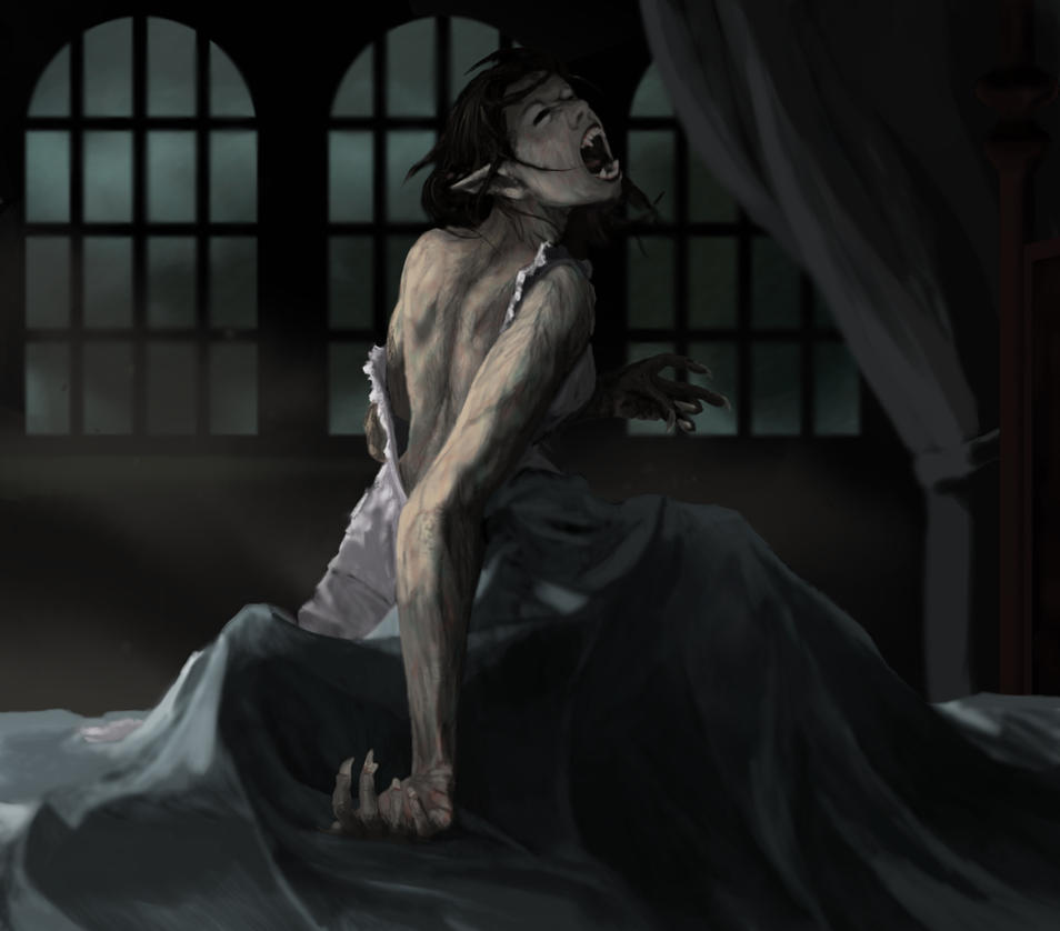 Werewolf Woman Transformation Werewolf Transformation by