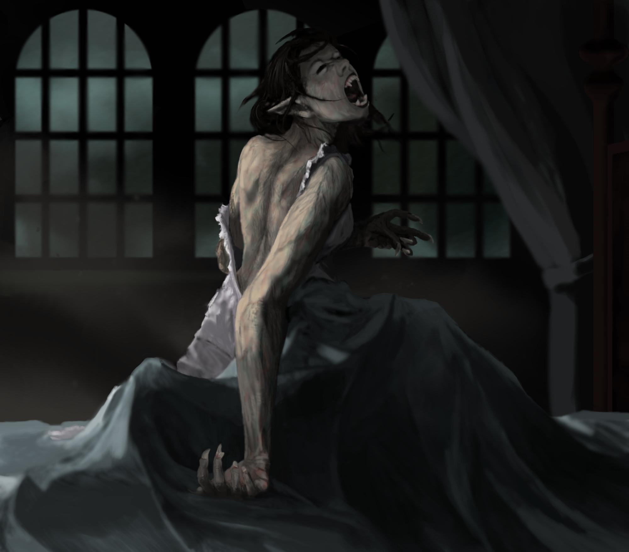 Werewolf Transformation by thatDMan on DeviantArt