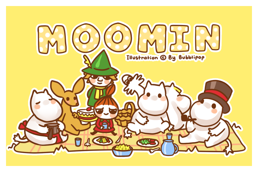 moomin doodle 2 by -#main