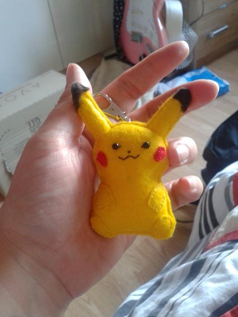 Pikachu front by bozrena