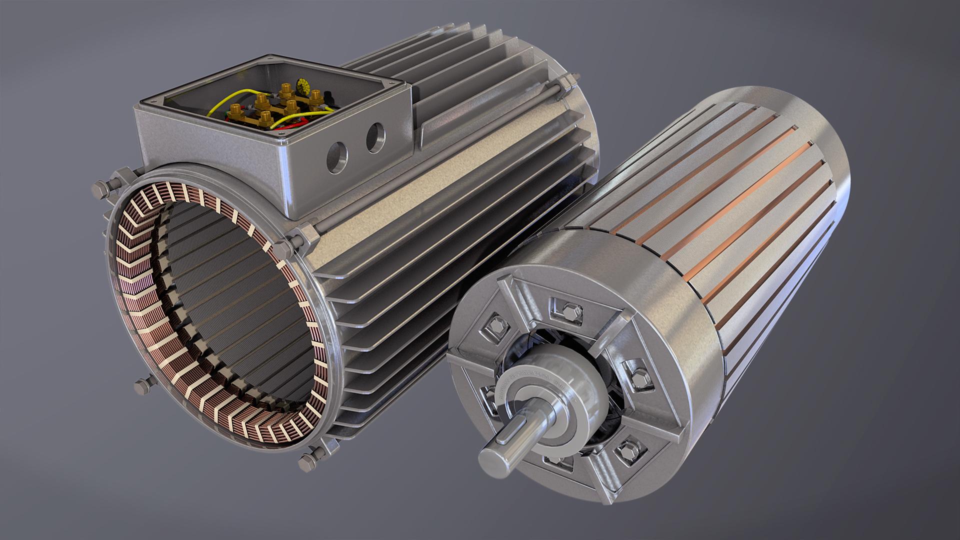 Servo motor stock photos