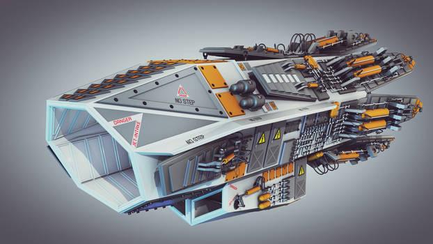 Jet Engine (Re-rendered)