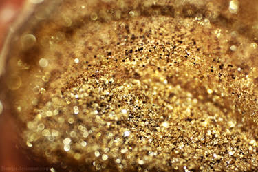 Gold glitter by beatqas