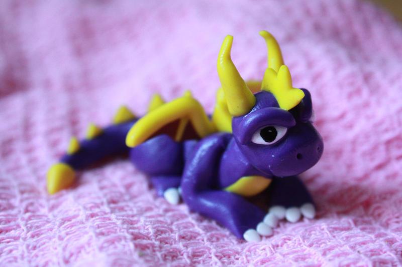 Spyro the dragon by Jakyl3
