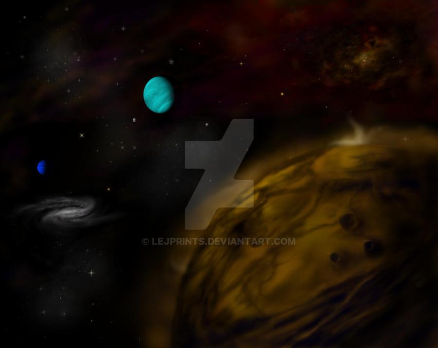 Planets by LEJprints
