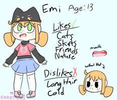 Emi Ref by CakePie11