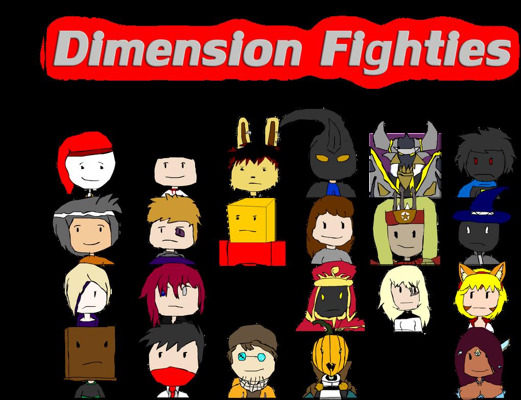Dimension Wars: Fighties Style (Work in Progress) by TheTalon34