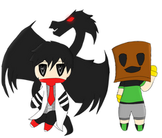 Calin and Boxman Chibis