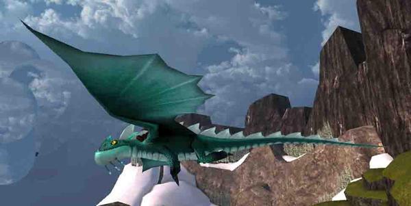 Dragon leg redesign idea by OnyxDragonArts