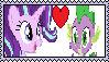 ( request ) Starlight Glimmer X Spike by HuskyRBTorchick