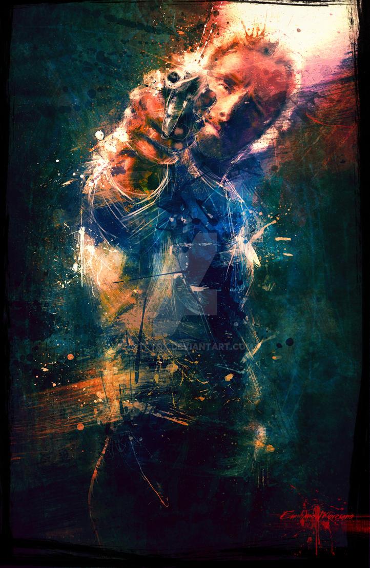 TwD Rick Grimes. by xAteyox