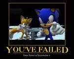 Sonic motivational poster #2