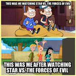My reaction to Star vs. The forces of Evil