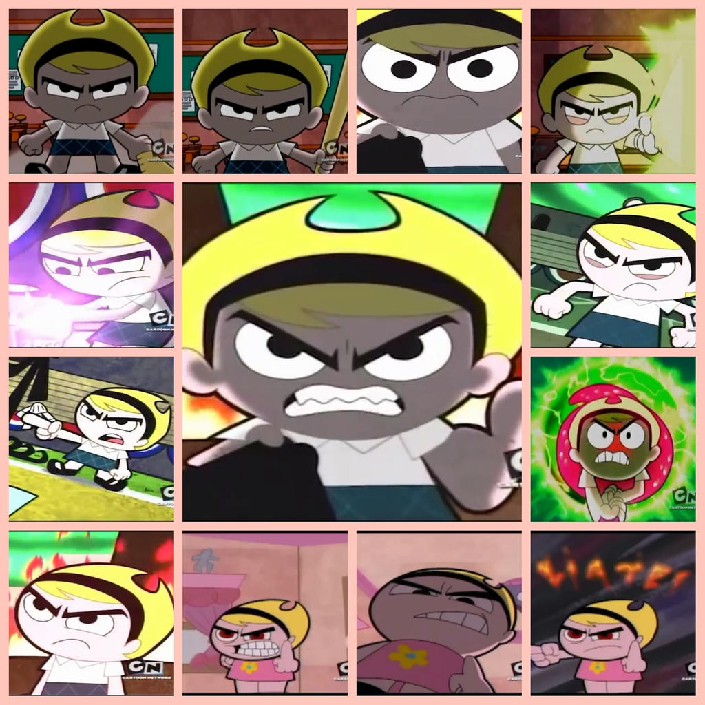 angry mandy collage by darkmegafan01 on deviantart