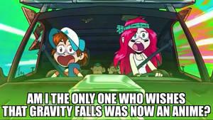 Gravity Falls as an Anime? :D